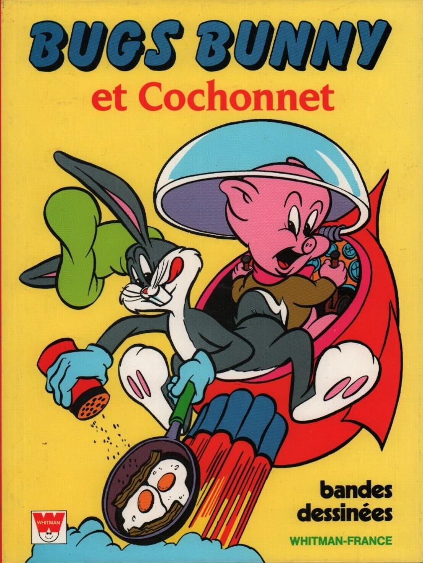 Couverture de Bugs Bunny (Whitman-France) - Bugs bunny et cochonnet