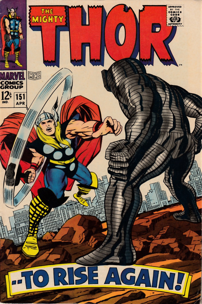 Couverture de Thor (1966) -151- --To Rise Again!