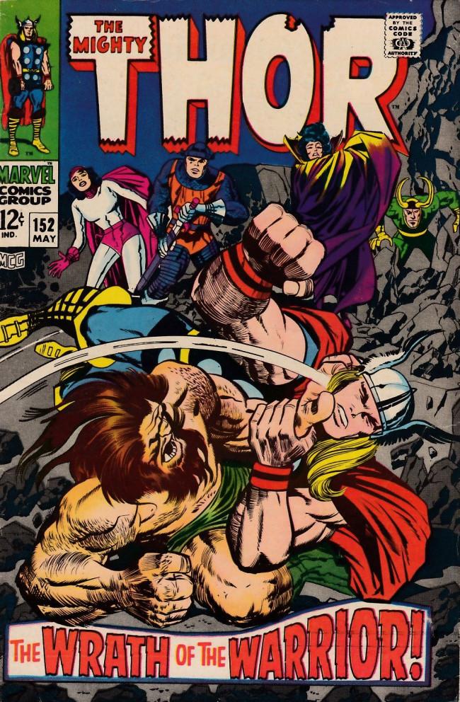 Couverture de Thor (1966) -152- The Dilemma of Dr. Blake!