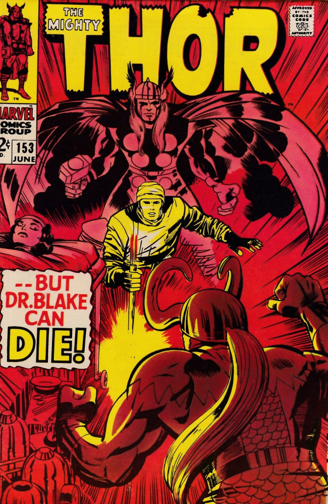 Couverture de Thor (1966) -153- --But Dr. Blake Can Die!