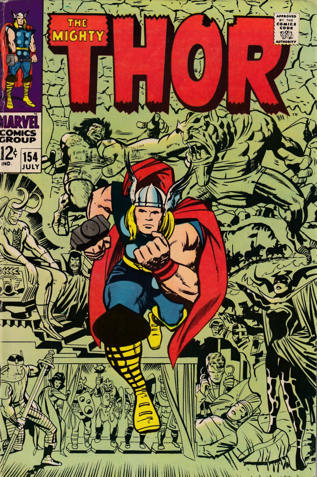 Couverture de Thor (1966) -154- ...To Wake the Mangog!