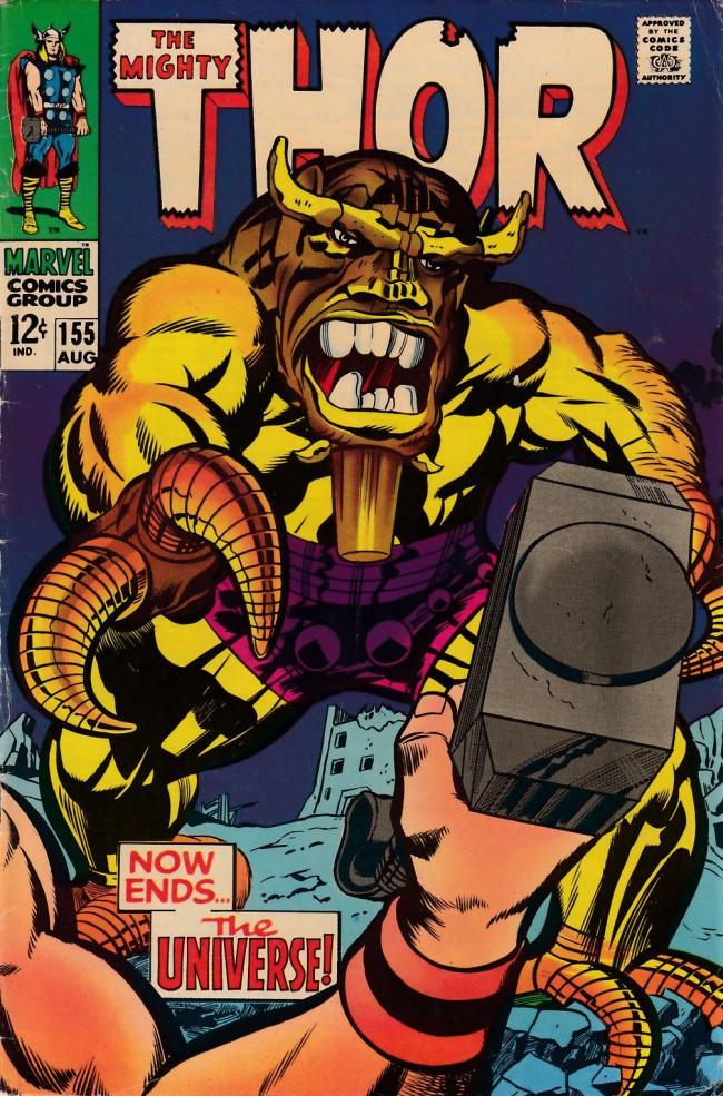 Couverture de Thor (1966) -155- Now Ends the Universe!
