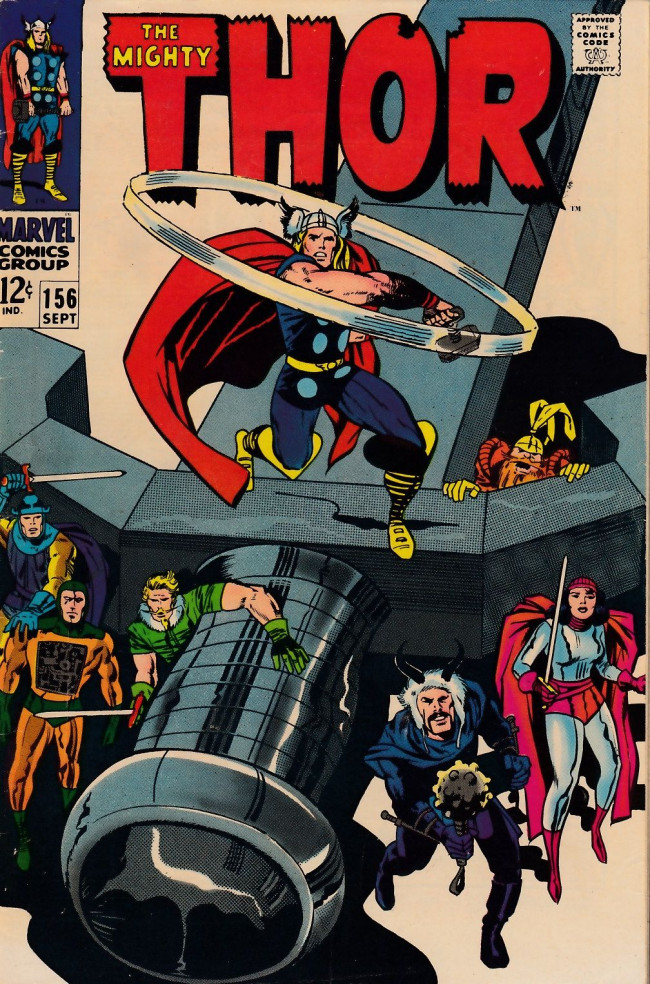 Couverture de Thor (1966) -156- The Hammer and the Holocaust!