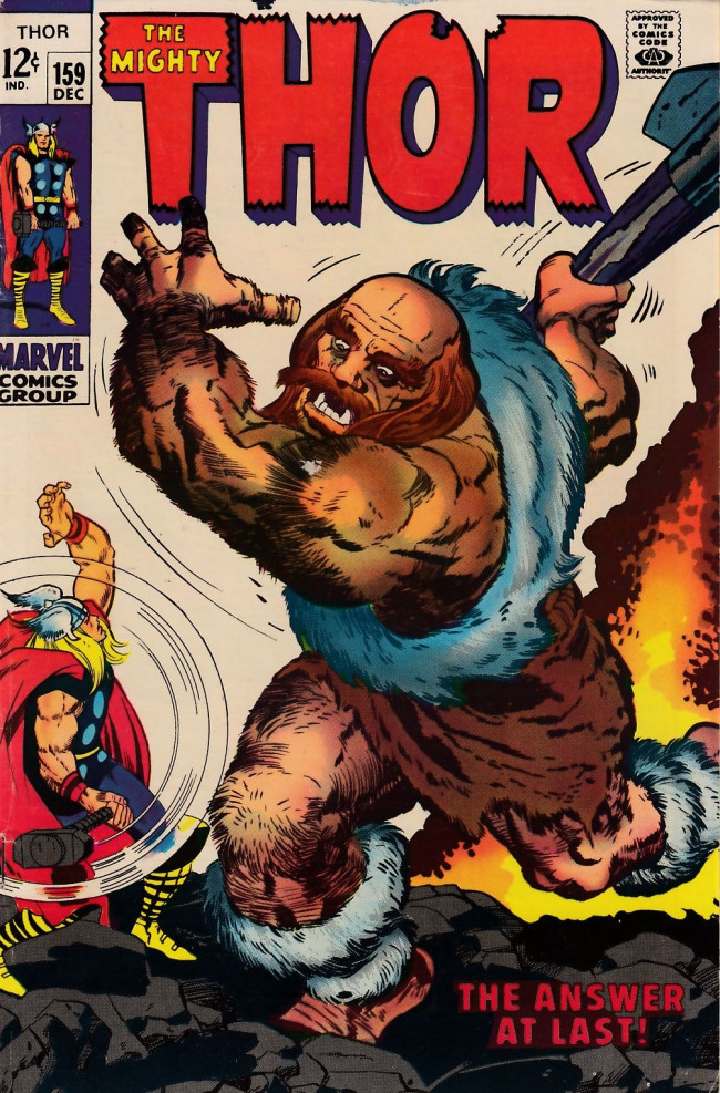 Couverture de Thor (1966) -159- The Answer At Last!