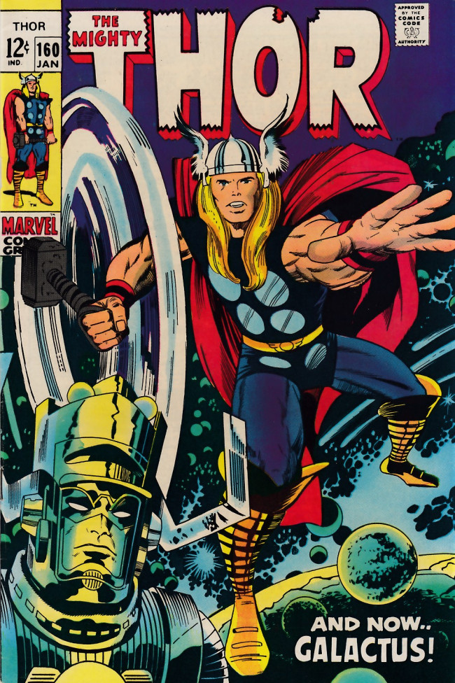 Couverture de Thor (1966) -160- And Now... Galactus!