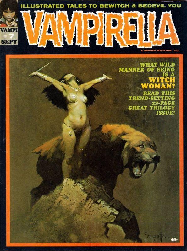 Couverture de Vampirella (Warren) -7- (sans titre)