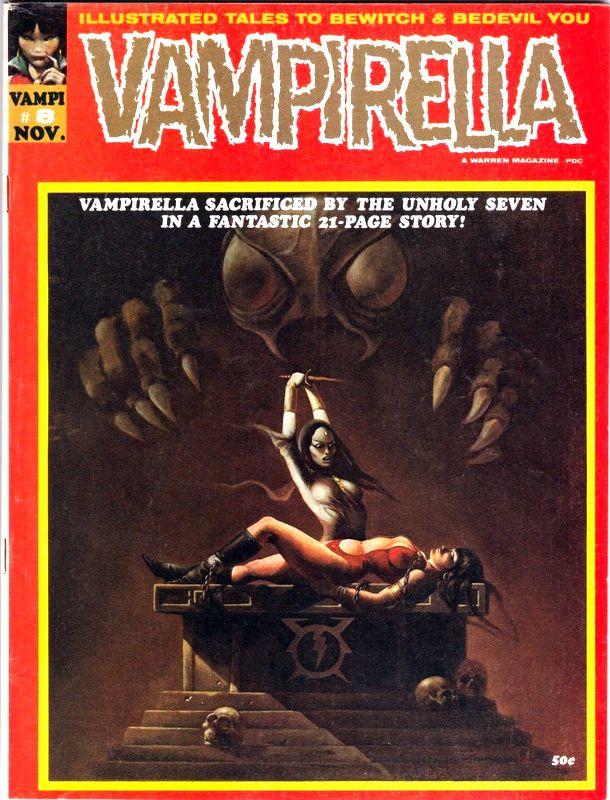 Couverture de Vampirella (Warren) -8- (sans titre)
