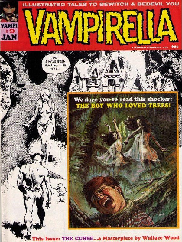 Couverture de Vampirella (Warren) -9- (sans titre)