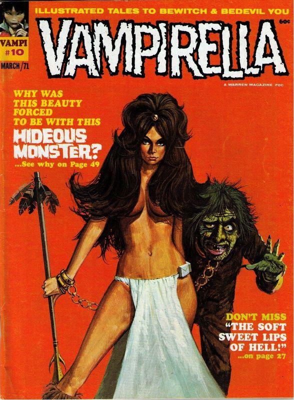 Couverture de Vampirella (Warren) -10- (sans titre)