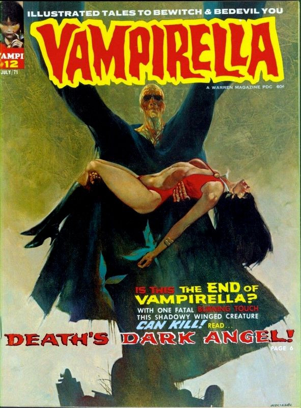 Couverture de Vampirella (Warren) -12- (sans titre)