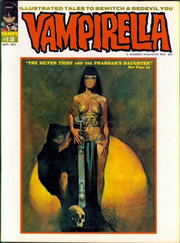 Couverture de Vampirella (Warren) -13- (sans titre)