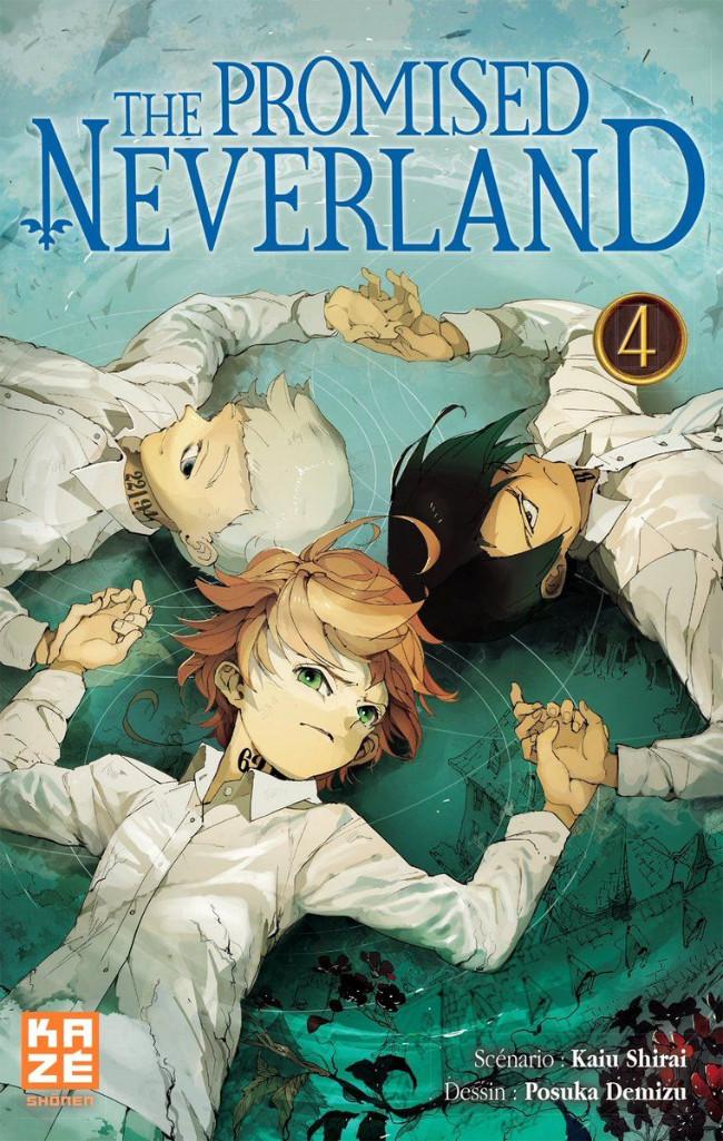 Couverture de Promised Neverland (The) -4- Je veux vivre !