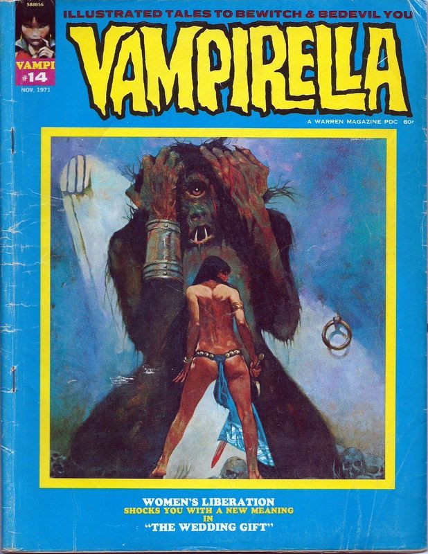 Couverture de Vampirella (Warren) -14- (sans titre)