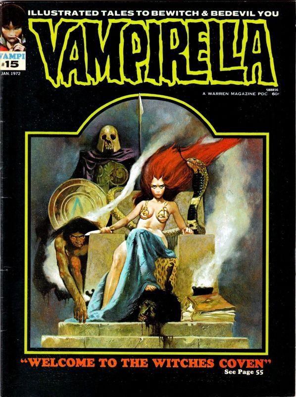 Couverture de Vampirella (Warren) -15- (sans titre)