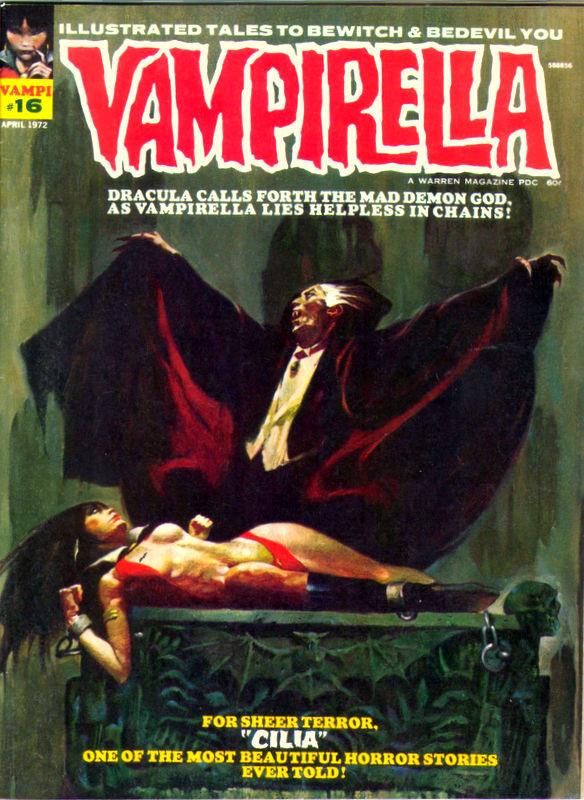 Couverture de Vampirella (Warren) -16- (sans titre)