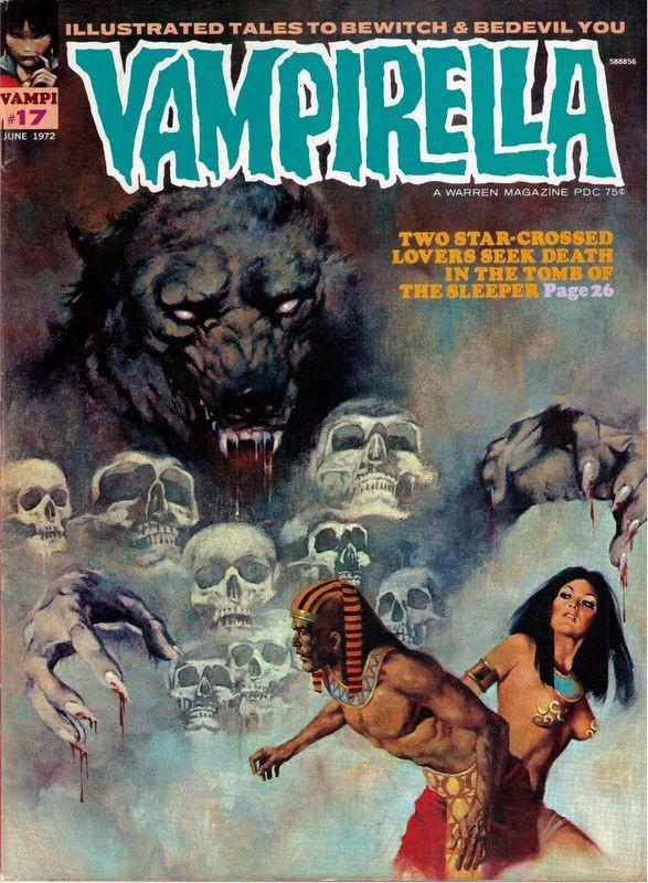 Couverture de Vampirella (Warren) -17- (sans titre)