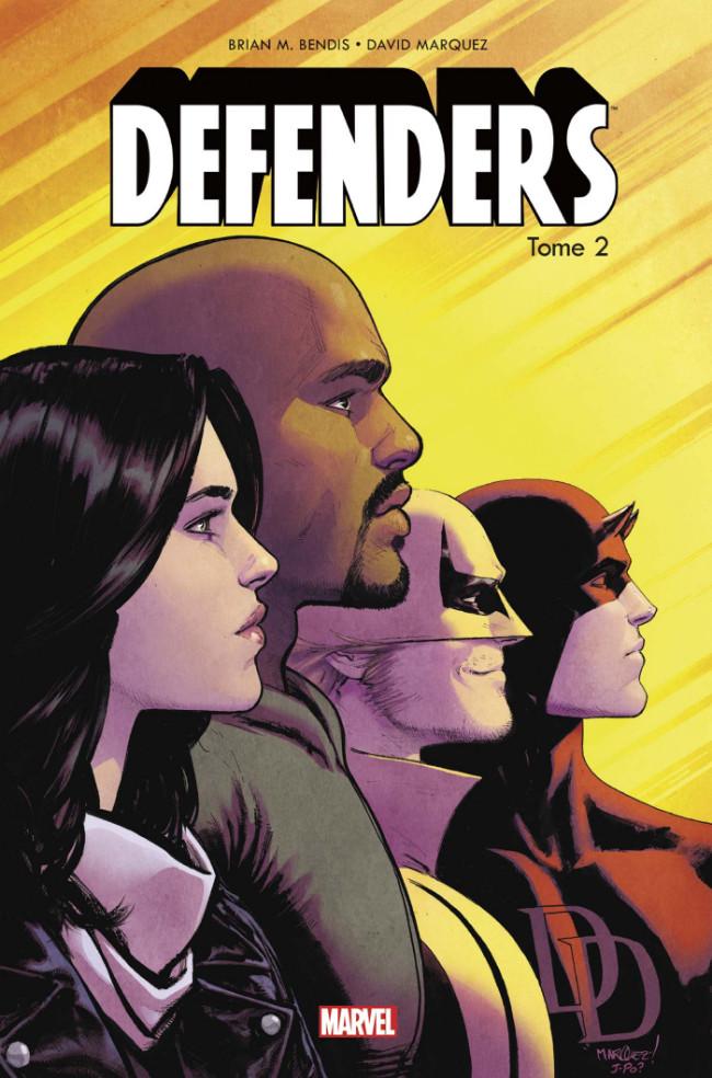 Couverture de Defenders (100% Marvel) -2- Les Caïds de New York