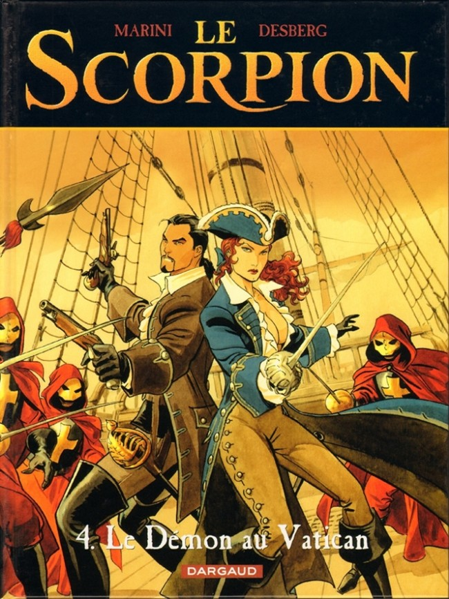 bande dessinee le scorpion