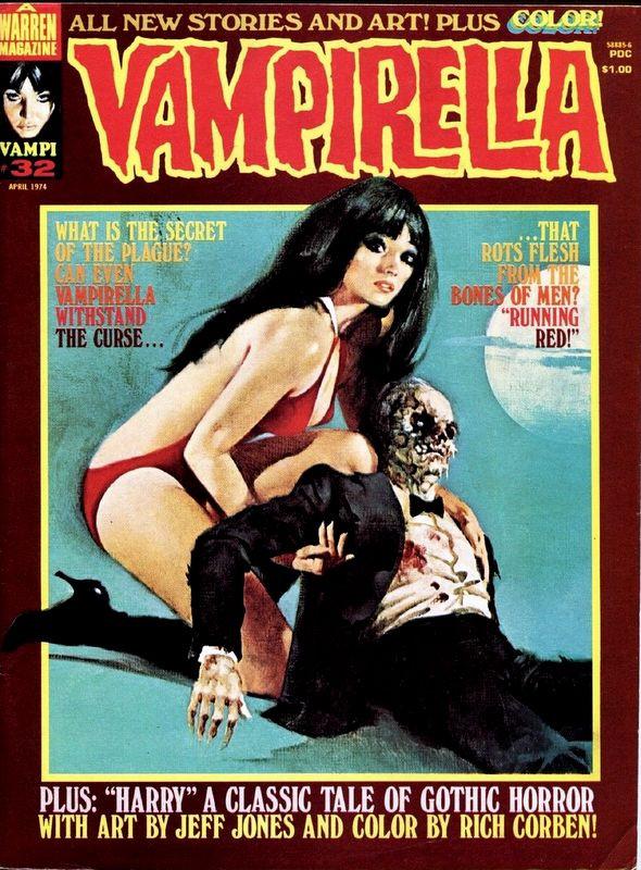 Couverture de Vampirella (Warren) -32- (sans titre)