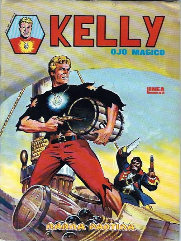 Couverture de Kelly ojo magico (Surco - 1983) -5- Barra partida