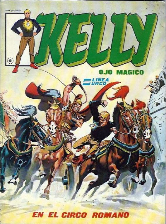 Couverture de Kelly ojo magico (Surco - 1983) -6- En el circo romano