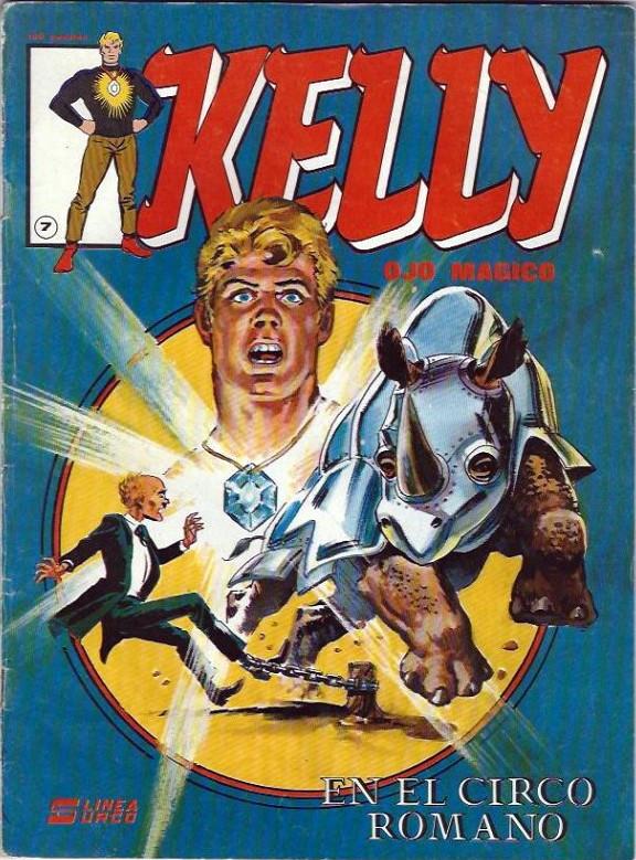 Couverture de Kelly ojo magico (Surco - 1983) -7- En el circo romano (2a parte)