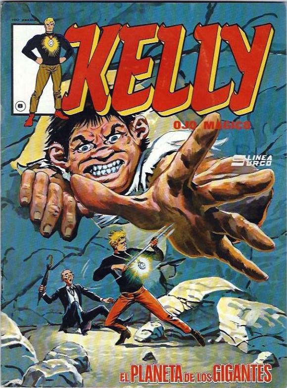 Couverture de Kelly ojo magico (Surco - 1983) -8- El planeta de los gigantes
