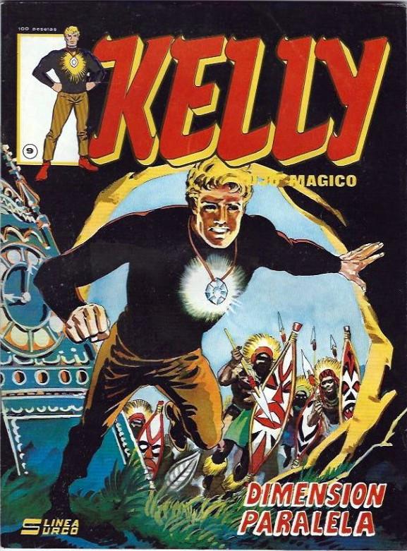 Couverture de Kelly ojo magico (Surco - 1983) -9- Dimension paralela