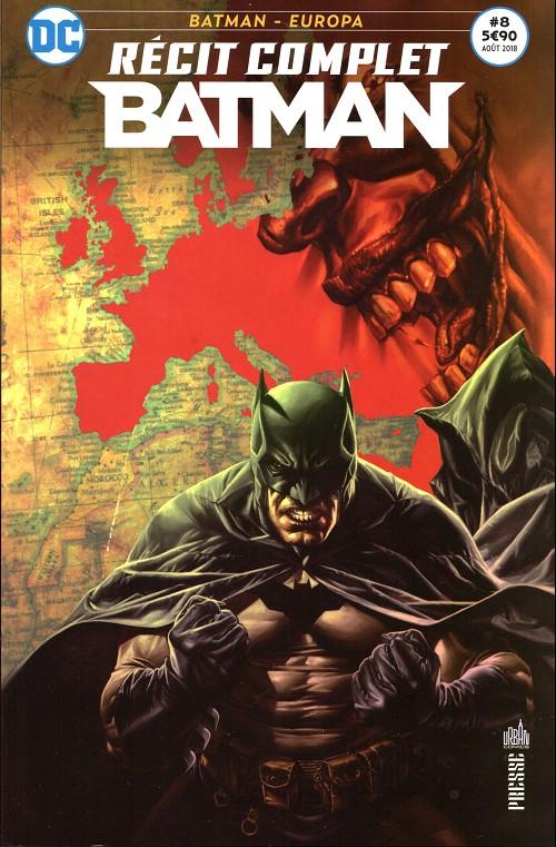Couverture de Batman - Récit Complet (DC Presse) -8- Batman - Europa