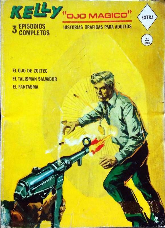 Couverture de Kelly ojo magico (Vértice - 1967) -1- El ojo de Zoltec