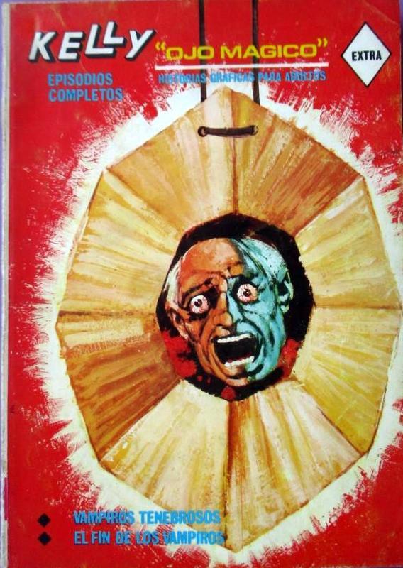 Couverture de Kelly ojo magico (Vértice - 1967) -3- Vampiros tenebrosos / El fin de los vampiros