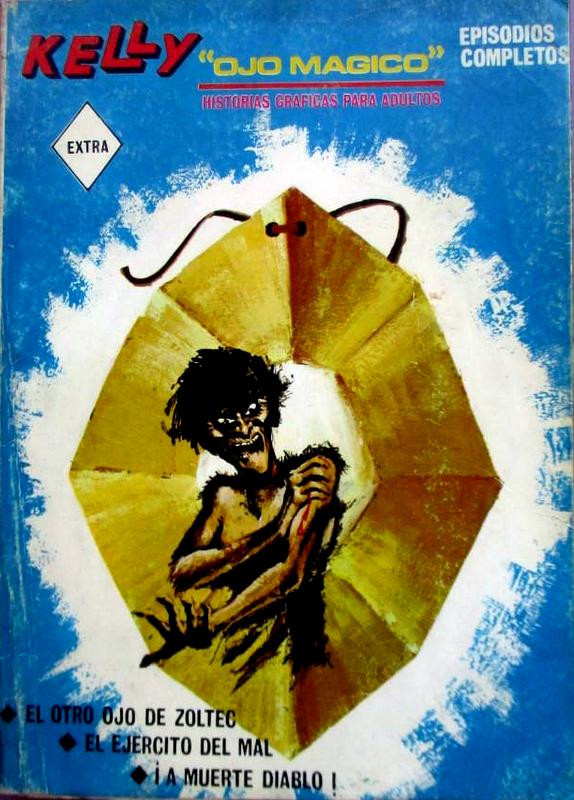 Couverture de Kelly ojo magico (Vértice - 1967) -4- El otro ojo de Zoltec