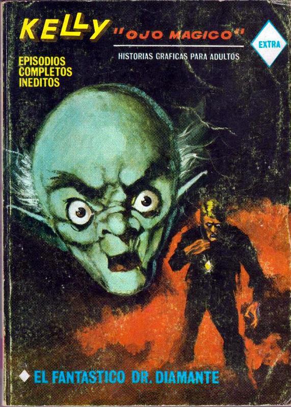 Couverture de Kelly ojo magico (Vértice - 1967) -8- El fantastico Dr. Diamante