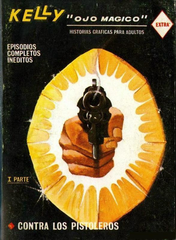 Couverture de Kelly ojo magico (Vértice - 1967) -10- Contra los pistoleros