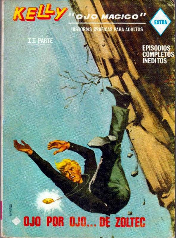 Couverture de Kelly ojo magico (Vértice - 1967) -13- Ojo por ojo... de Zoltec