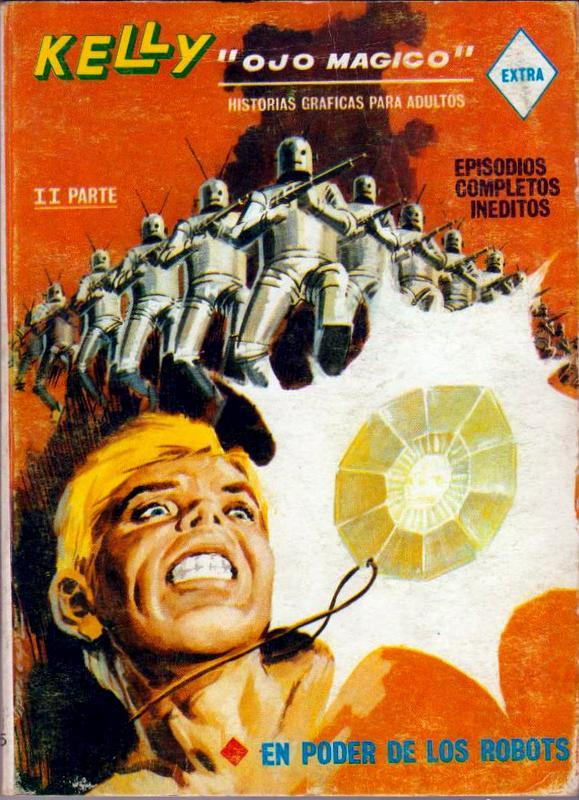 Couverture de Kelly ojo magico (Vértice - 1967) -15- En poder de los robots