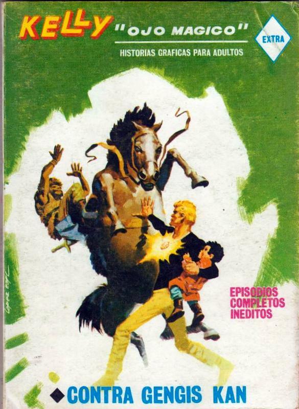 Couverture de Kelly ojo magico (Vértice - 1967) -16- Contra Gengis Kan