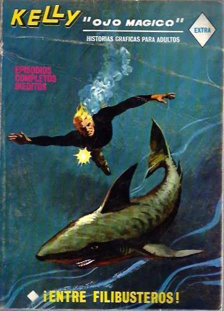 Couverture de Kelly ojo magico (Vértice - 1967) -17- ¡Entre flibusteros!
