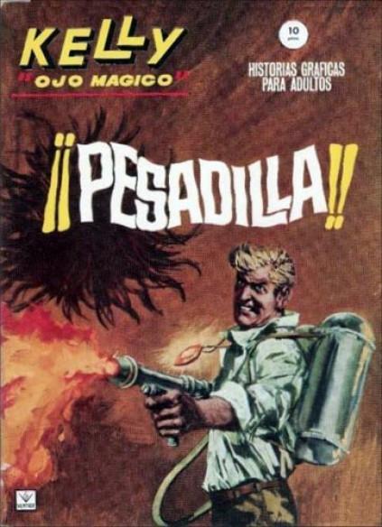 Couverture de Kelly ojo magico (Vértice - 1965) -5- ¡¡Pesadilla!!