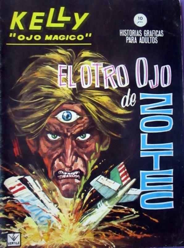 Couverture de Kelly ojo magico (Vértice - 1965) -8- El otro ojo de Zoltec