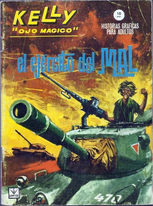 Couverture de Kelly ojo magico (Vértice - 1965) -9- El ejército del mal