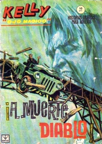 Couverture de Kelly ojo magico (Vértice - 1965) -10- ¡A muerte, diablo!