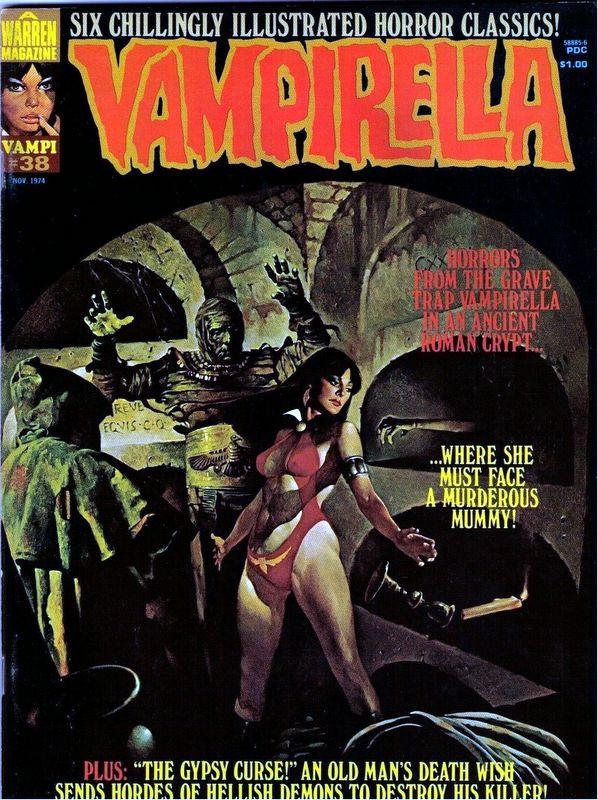 Couverture de Vampirella (Warren) -38- (sans titre)
