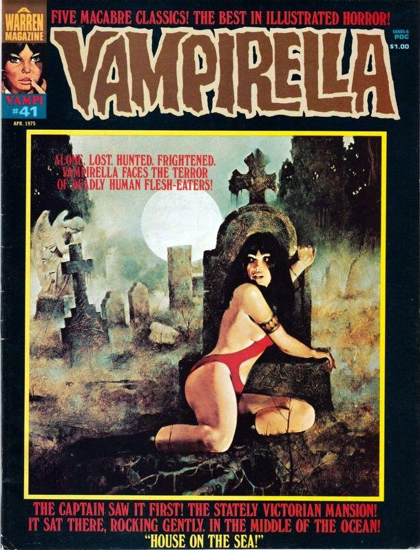 Couverture de Vampirella (Warren) -41- (sans titre)