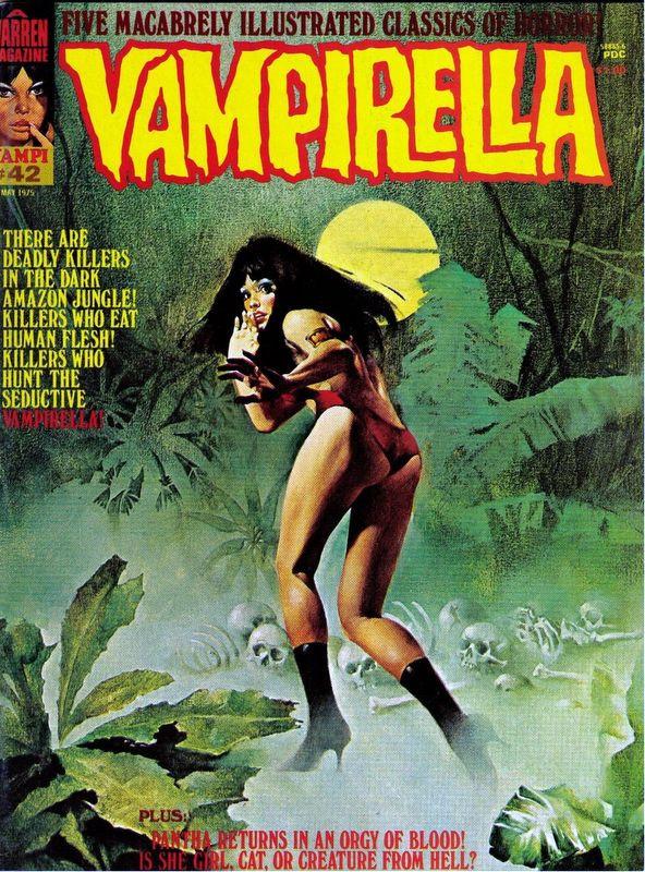 Couverture de Vampirella (Warren) -42- (sans titre)