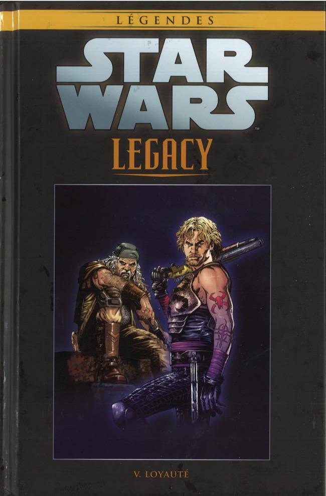 Couverture de Star Wars - Légendes - La Collection (Hachette) -7489- Star Wars Legacy - V. Loyauté
