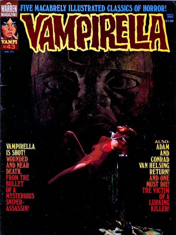 Couverture de Vampirella (Warren) -43- (sans titre)