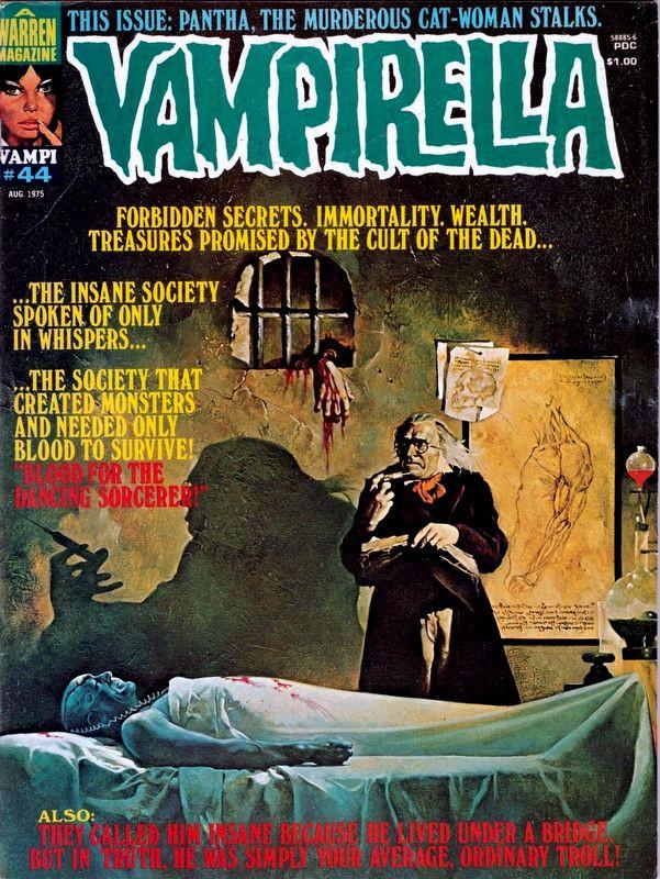 Couverture de Vampirella (Warren) -44- (sans titre)