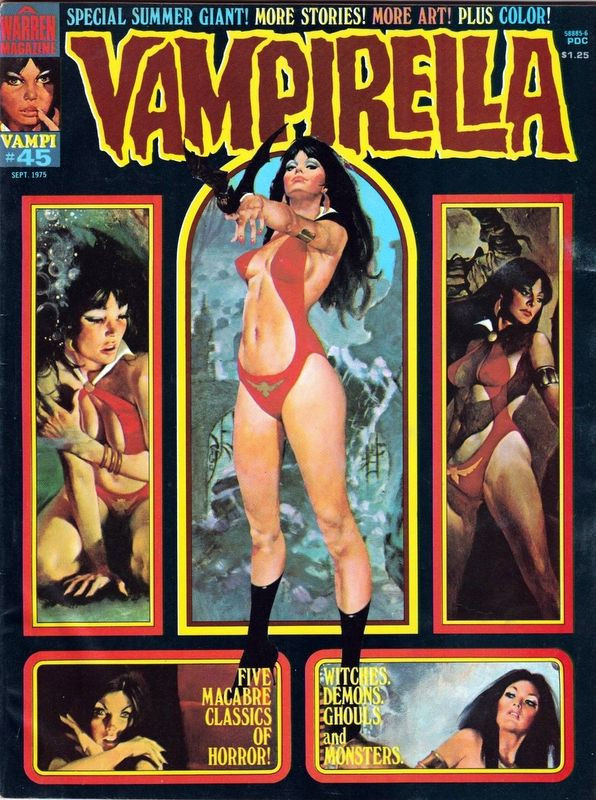 Couverture de Vampirella (Warren) -45- (sans titre)