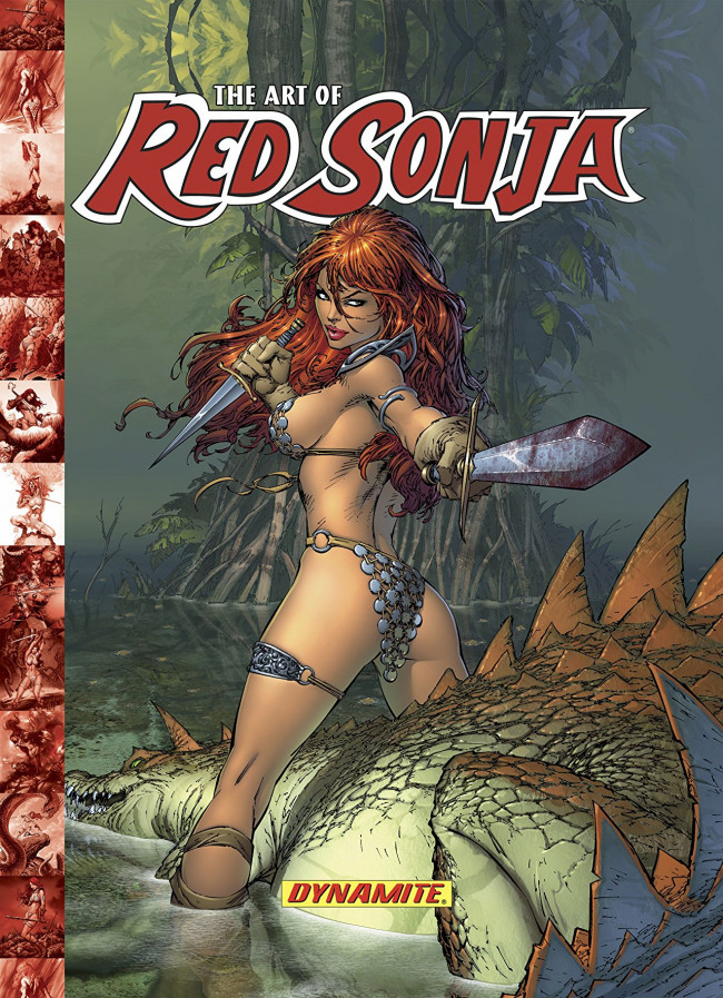 Couverture de Red Sonja (The Art of) -1- The Art of Red Sonja Vol. 1